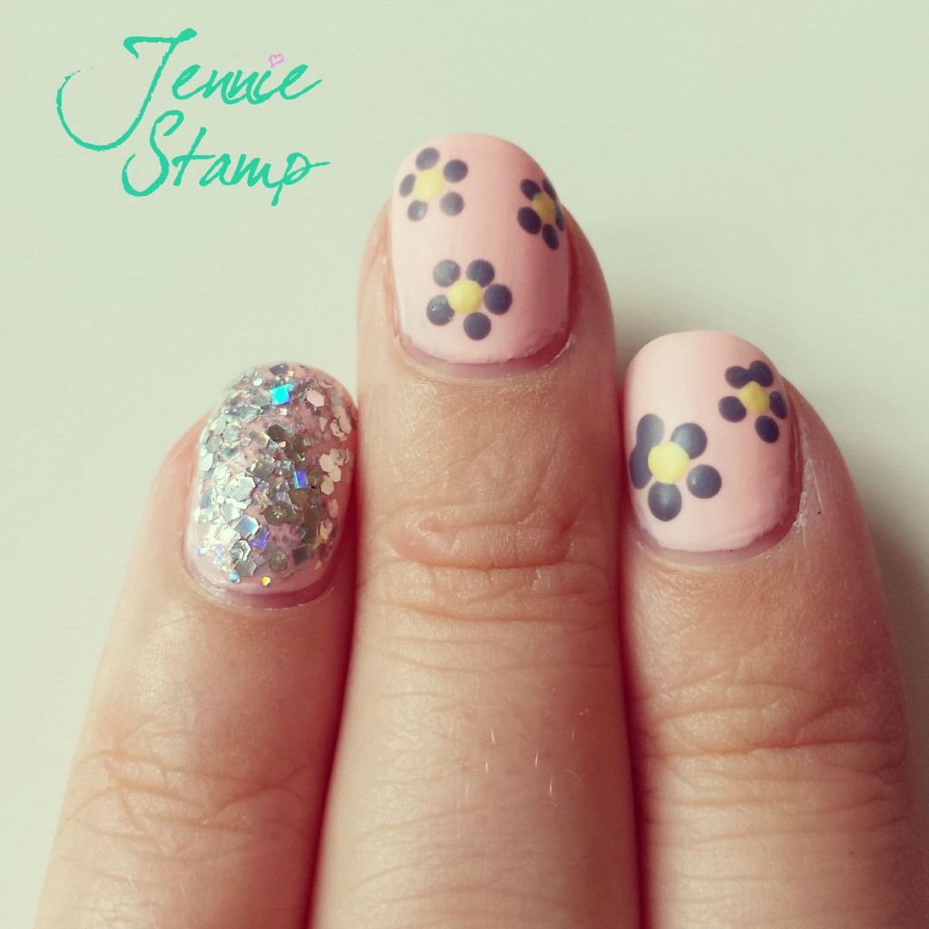 Floral Paperchase Nail Art