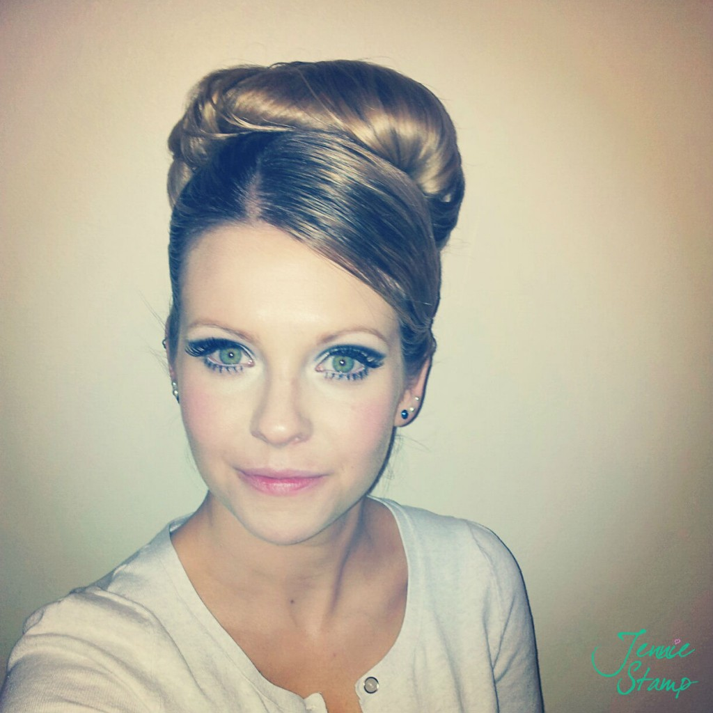 60s hair by Miss Dixiebelle