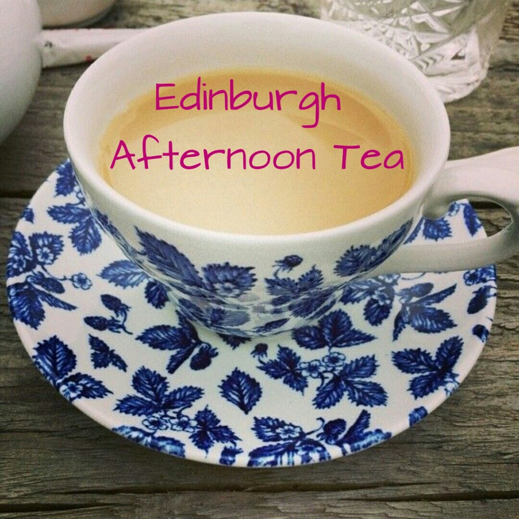 Afternoon tea in Edinburgh - brunchandnaps.com