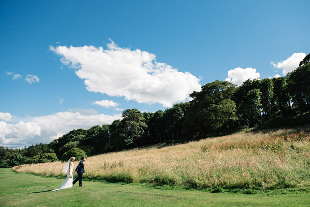 Our Pinterest wedding at Dunglass Estate
